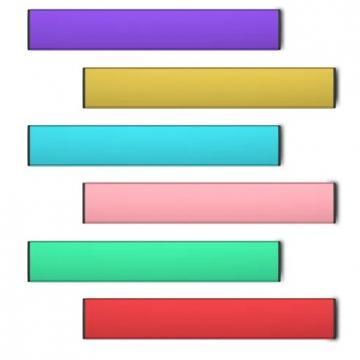 Пользовательские этикетки поп-бар vape 1,3 мл Eboattimes индивидуальная упаковка одноразовые поп-vape